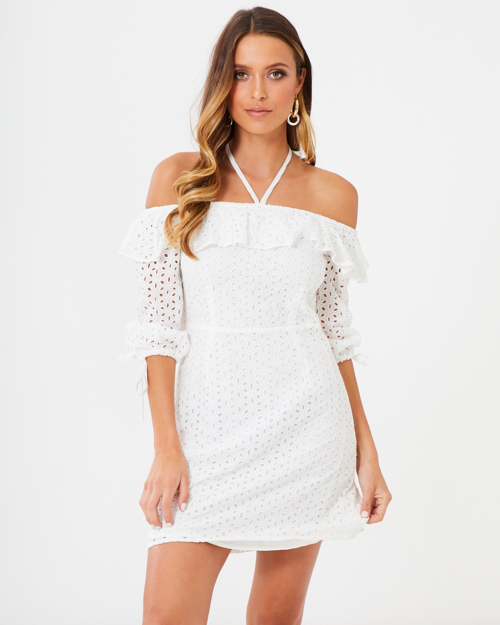 Photo of Calli White Lace Scarlett Dress - buy Calli dresses on sale online