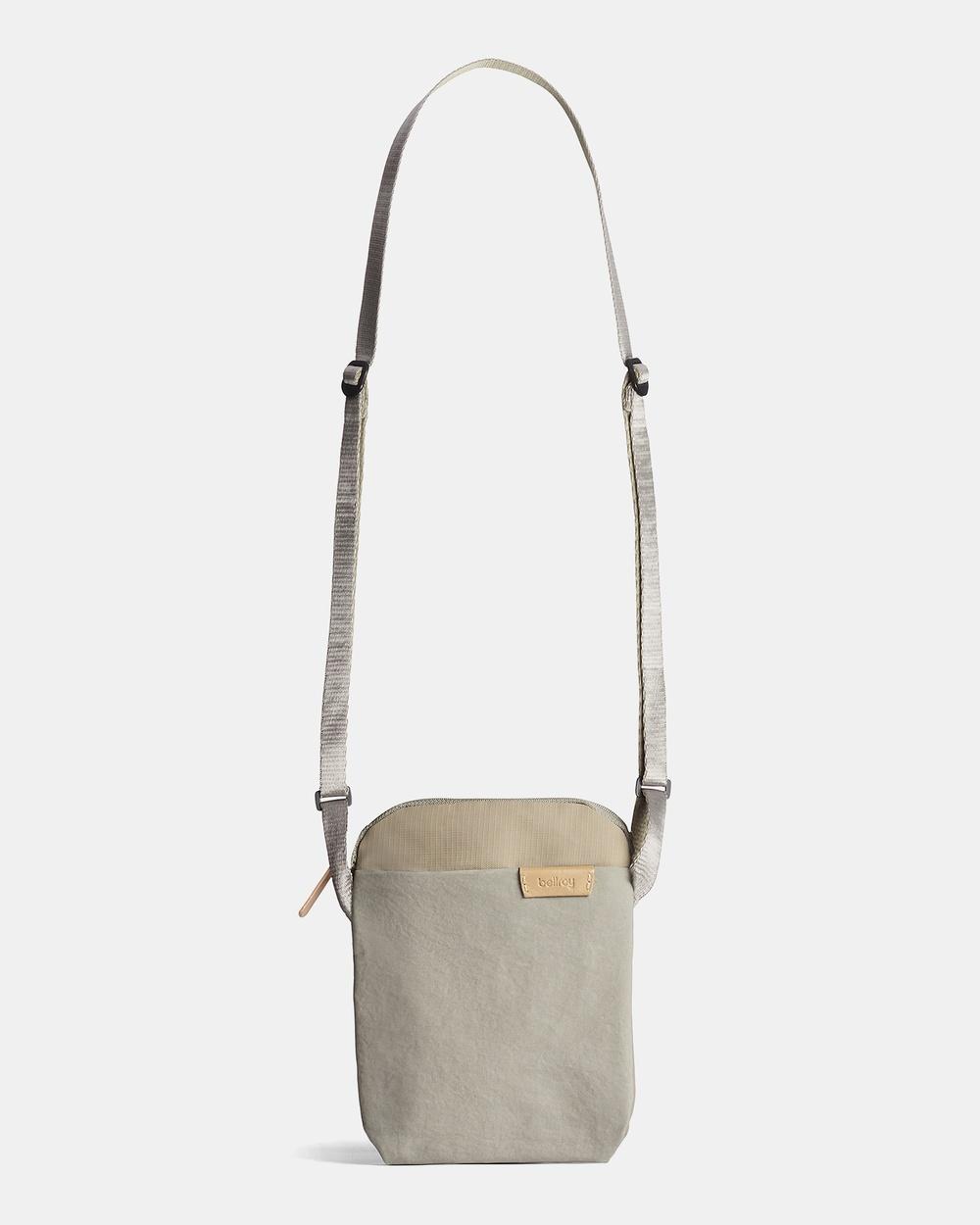 Bellroy City Pouch Bum Bags Grey