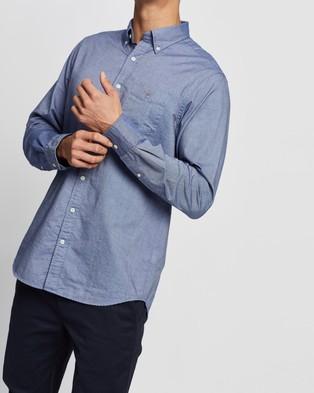 Gant The Oxford Regular Button Down Shirt - Casual shirts (Persian Blue)