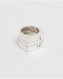 Icon Brand - Cross Stacking Rings