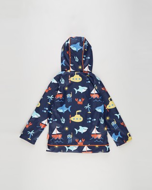 Penny Scallan Raincoat   Kids - Accessories (Anchors Away)