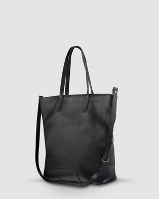 Status Anxiety - Fire on the Vine Tote - Satchels (Black) Fire on the Vine Tote