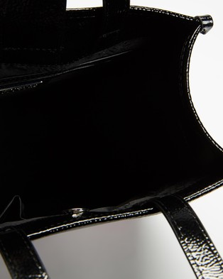 Versace Jeans Couture Logo Tote Bag  - Bags (Black)