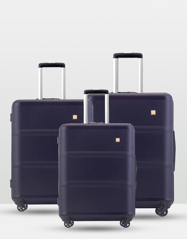 Men Rome Echolac 3 Piece Luggage Set