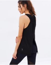Nimble Activewear - Tie-Up Gather Tank
