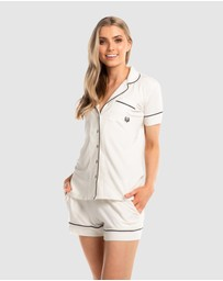 Deshabille Sleepwear  - Manor Shorts PJ Set