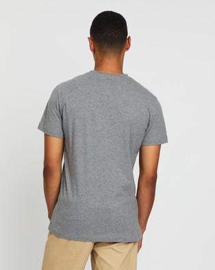 Calvin Klein Jeans Core Monogram Box Logo Tee - T-Shirts & Singlets (Grey)