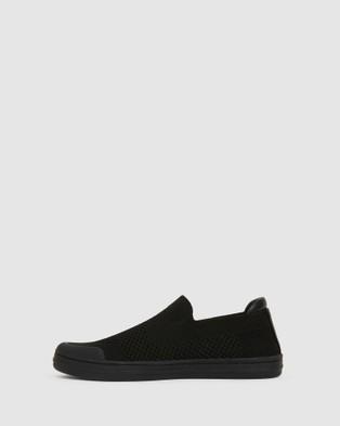 Ravella Veneto - Slip-On Sneakers (BLACK)