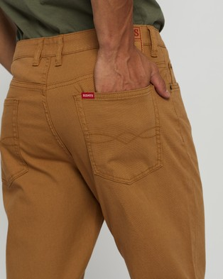 Riders by Lee Classic Straight Slim Jeans - Clothing (Dark Sand)