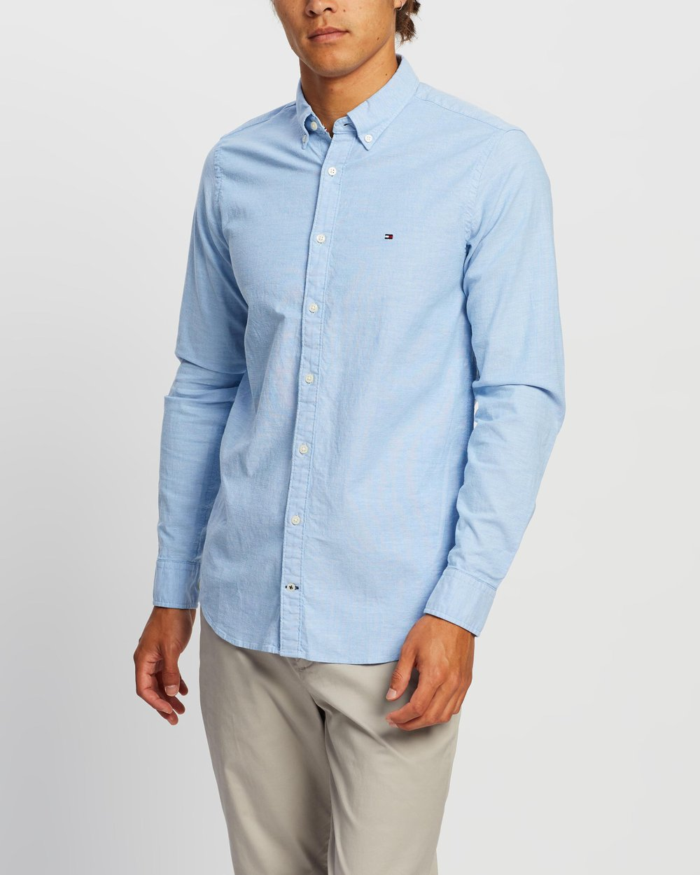 49a17149c74 Stretch Slim Oxford Shirt by Tommy Hilfiger Online
