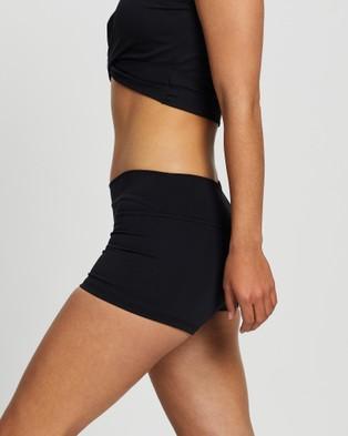 Liquido Active Bad Ass Compression Eco Shorts - Muscle Tops (Black)