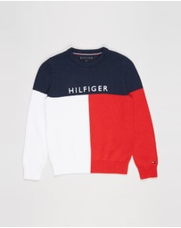 Tommy Hilfiger - Colourblock Sweater - Teens