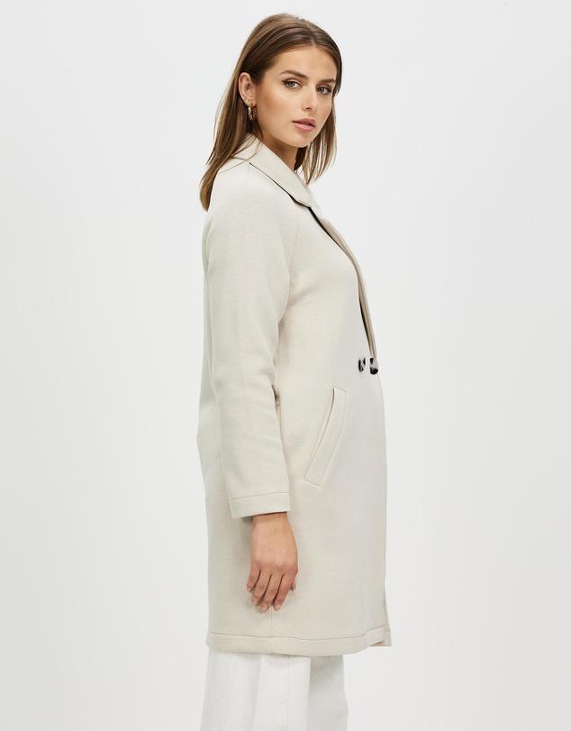 Women Bernadette Bonded Loose Coat