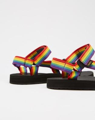 Teva Original Universal   Women's - Sandals (Rainbow & Black)