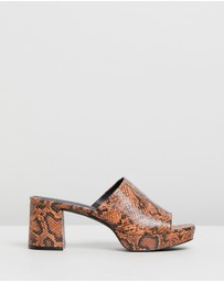 Atmos&Here - Heidi Leather Heels