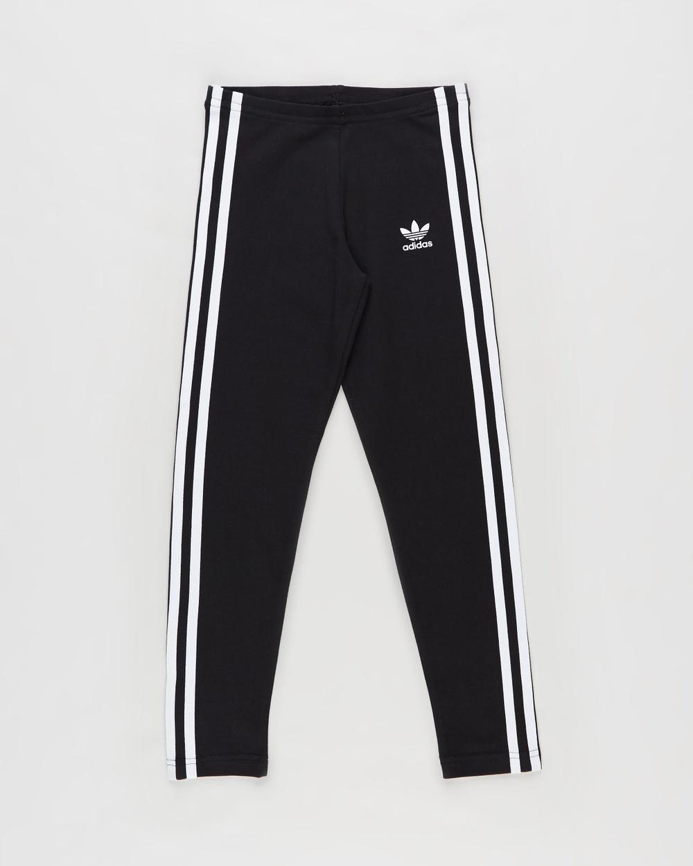 adidas Originals Adicolour Leggings Kids Pants Black & White