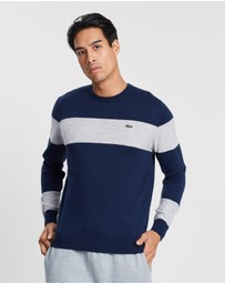 Lacoste - Colour-Block Wool Sweater