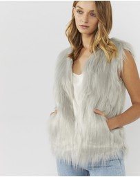 Everly Collective - Windsor Faux Fur Vest