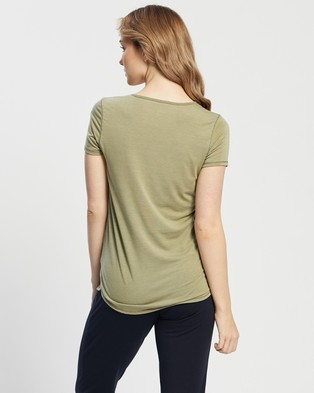 Cotton On Body Active - Maternity Gym T Shirt - Short Sleeve T-Shirts (Oregano) Maternity Gym T-Shirt