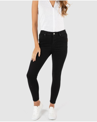 Betty Basics Hadley Hi-rise Jeans Black