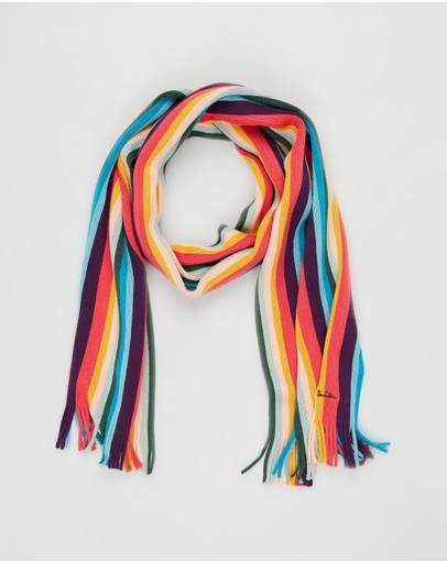 PS by Paul Smith - Artist Knit Scarf