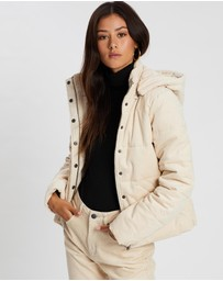 All About Eve - Cali Cord Puffer Jacket