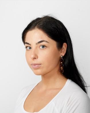 STEVIIE Annie Earrings - Jewellery (Tortise)