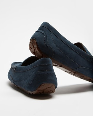 Staple Superior Classic Slippers - Slippers & Accessories (Navy)