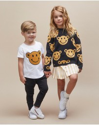 Huxbaby - Smiley Knit Jumper - Babies-Kids