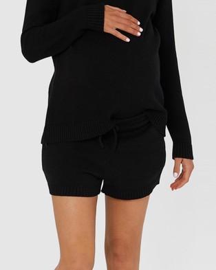legoe Knit Shorties - Shorts (Black)