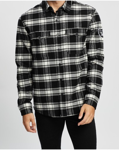 Majestic - Raiders Flannel Shirt