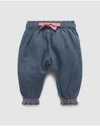 Purebaby - Denim Pull-On Pants - Babies