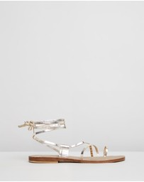 Atmos&Here - Arya Leather Sandals