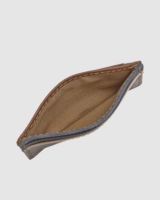 Fossil Elgin Brown Wallet - Wallets (Brown)