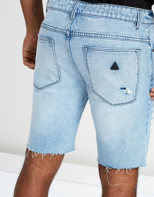 Abrand - A Dropped Skinny Shorts