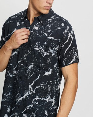 Abrand A Resort Shirt - Casual shirts (Marble)