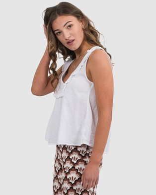 Folksong Iggy Top - Tops (White)