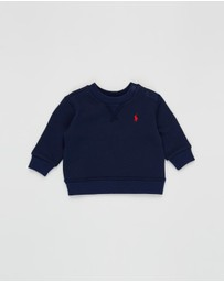 Polo Ralph Lauren - Cotton-Blend Fleece Sweatshirt - Babies