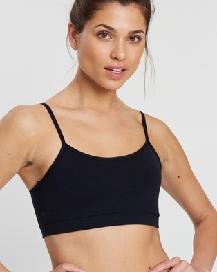 AVE Activewoman The Everyday Sports Bra - Crop Tops (Black)
