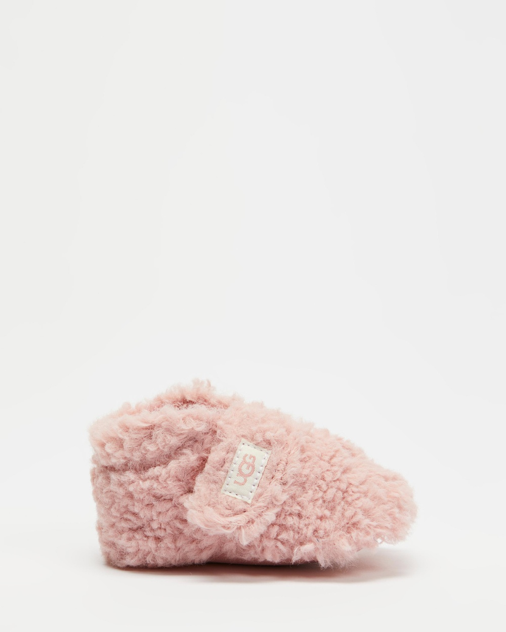 UGG Bixbee Curly Faux Fur Booties Babies Slippers & Accessories Faux Shell