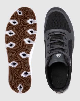Quiksilver Mens Amphibian Plus Shoe - Training (Black/Grey/White)
