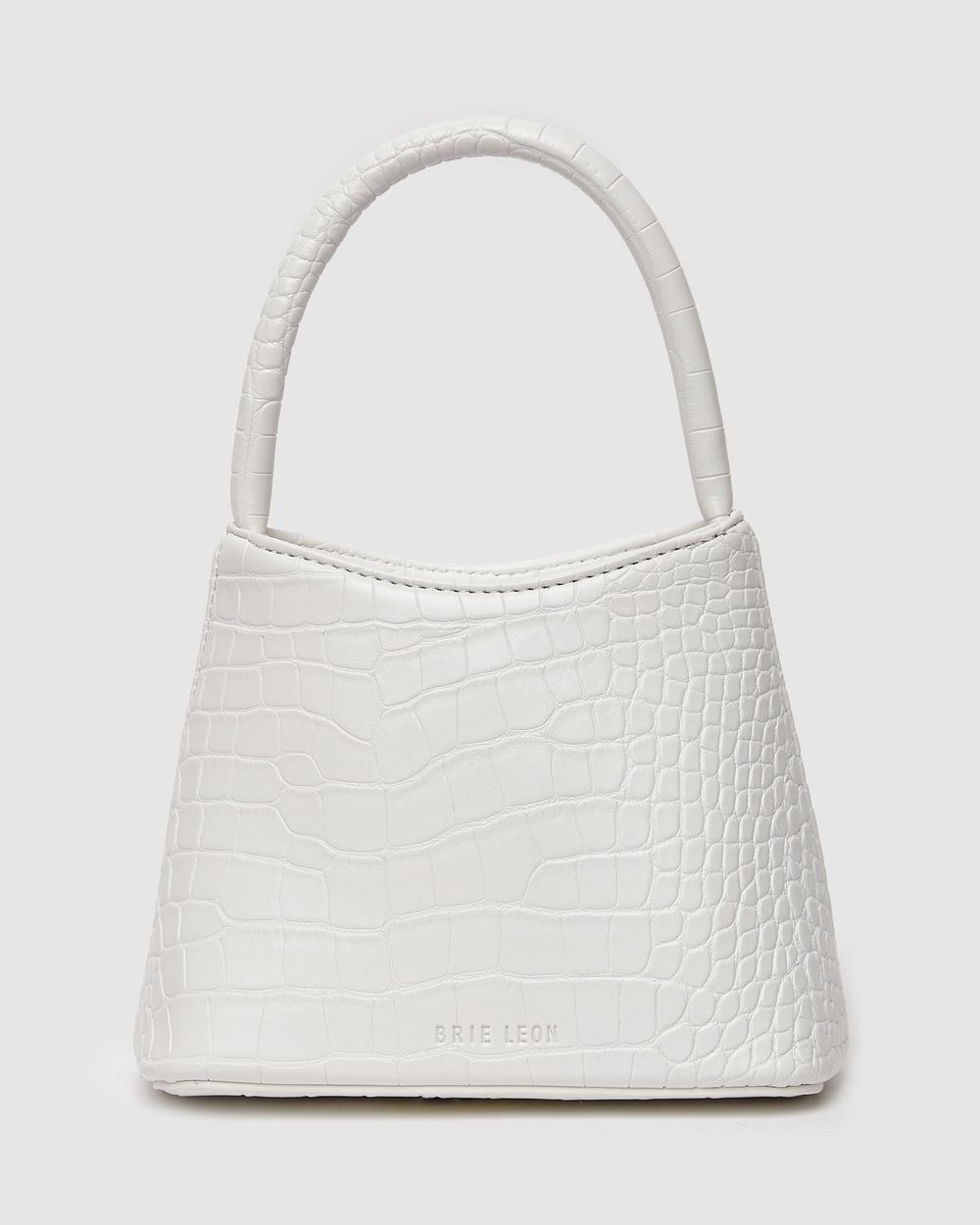 Brie Leon The Mini Chloe Bag Handbags White Australia