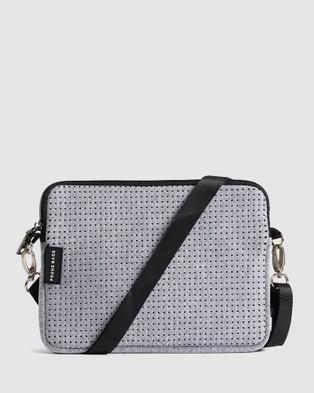 Prene The Pixie Neoprene Cross Body Bag - Bags (Light Grey Marle)