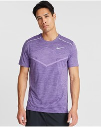 Nike - Techknit Ultra Short Sleeve Running Top