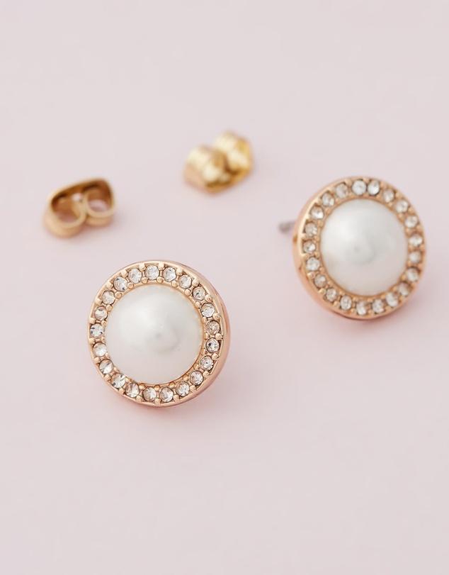 Women Golden Aurora Earrings with Swarovski® Crystals