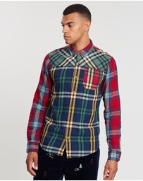 Scotch & Soda - Mix & Match Check Shirt
