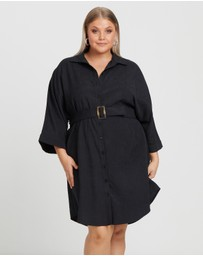 Calli Curve - Navo Belt Shirt Dress