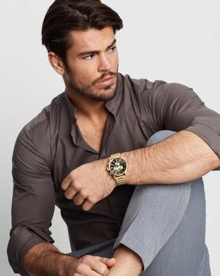 Nixon Sentry Chrono - Watches (All Gold & Black)