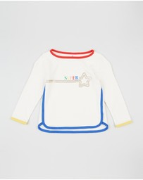 babyGap - Rainbow Trim Sweatshirt - Babies-Kids