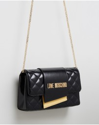 LOVE MOSCHINO - Small Quilted Cross-Body Bag